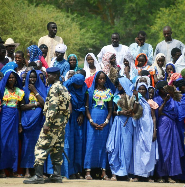 Cérémonie à Bahr Linia au Tchad