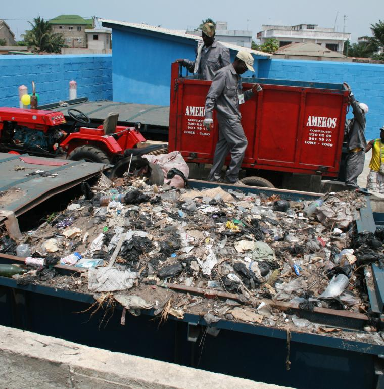 Togo, waste processing