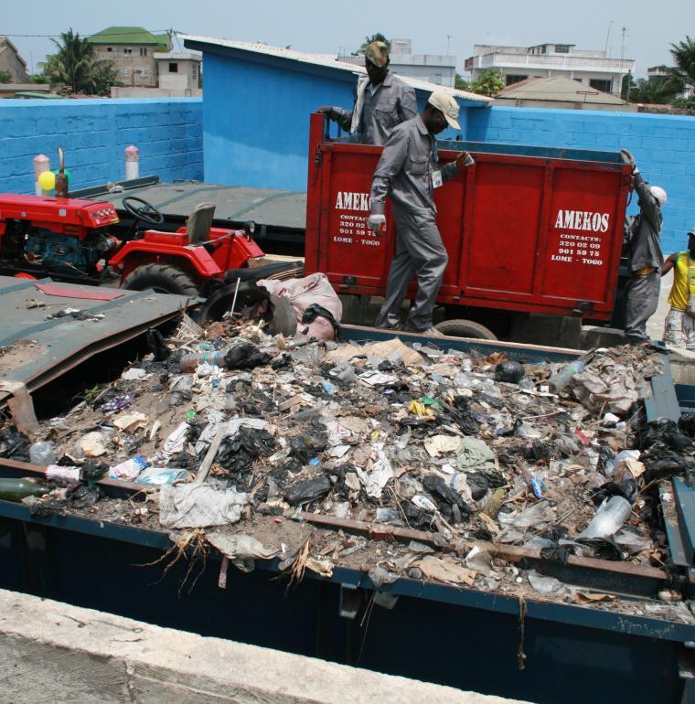 Togo Centre de pré-collecte des déchets