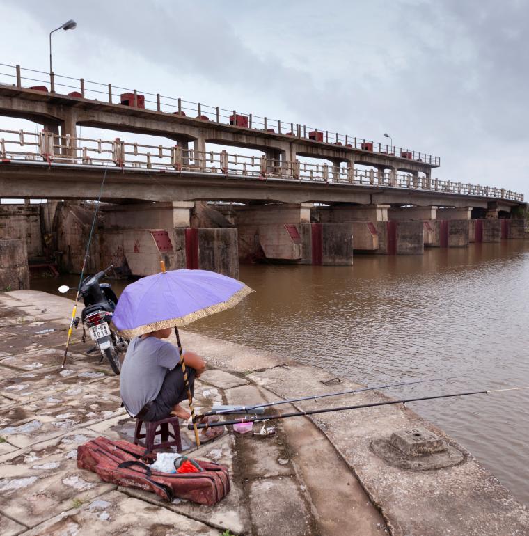Vietnam barrage eau lutte changement climatique