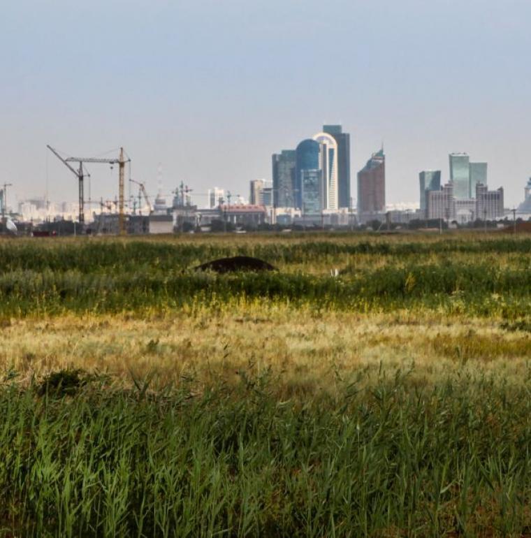 Steppe, Astana, Kazakhstan