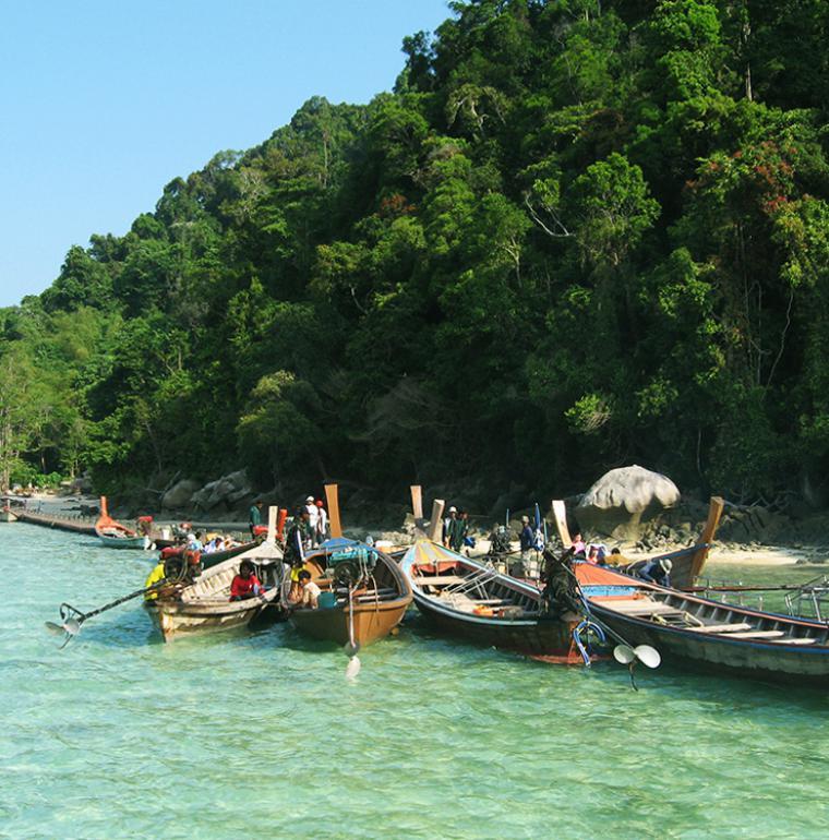 Barques, Thaïlande