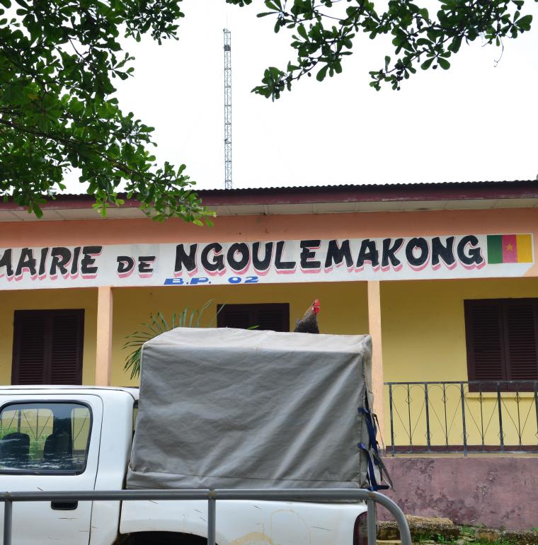 Cameroun Mairie de la Commune de Ngoulemakong