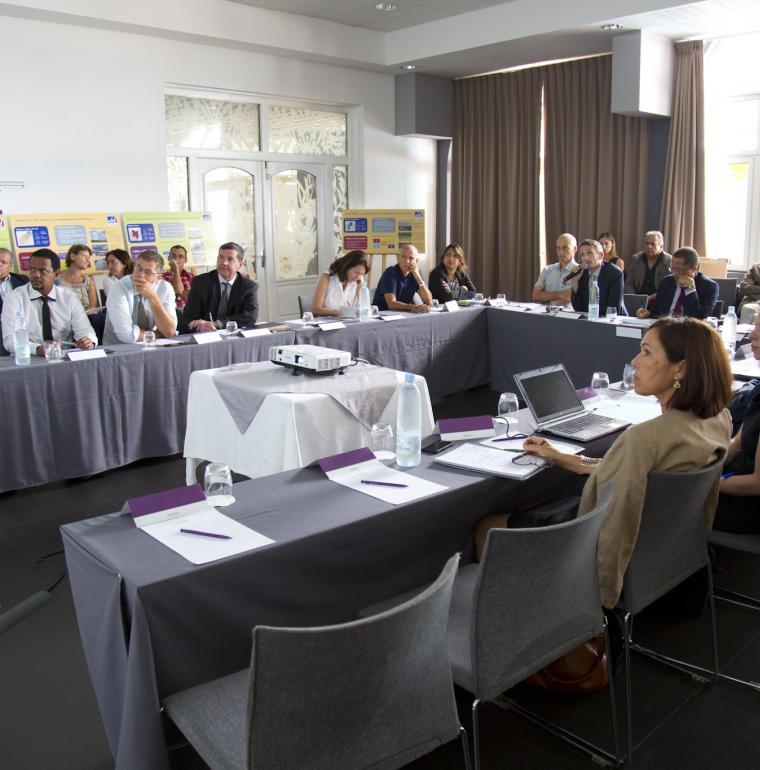 Atelier climat organisé par l'AFD La Réunion, coopération régionale océan Indien