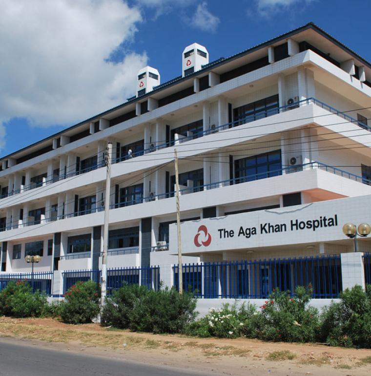 Aga Khan Hospital in Dar Es Salaam, Tanzania, health
