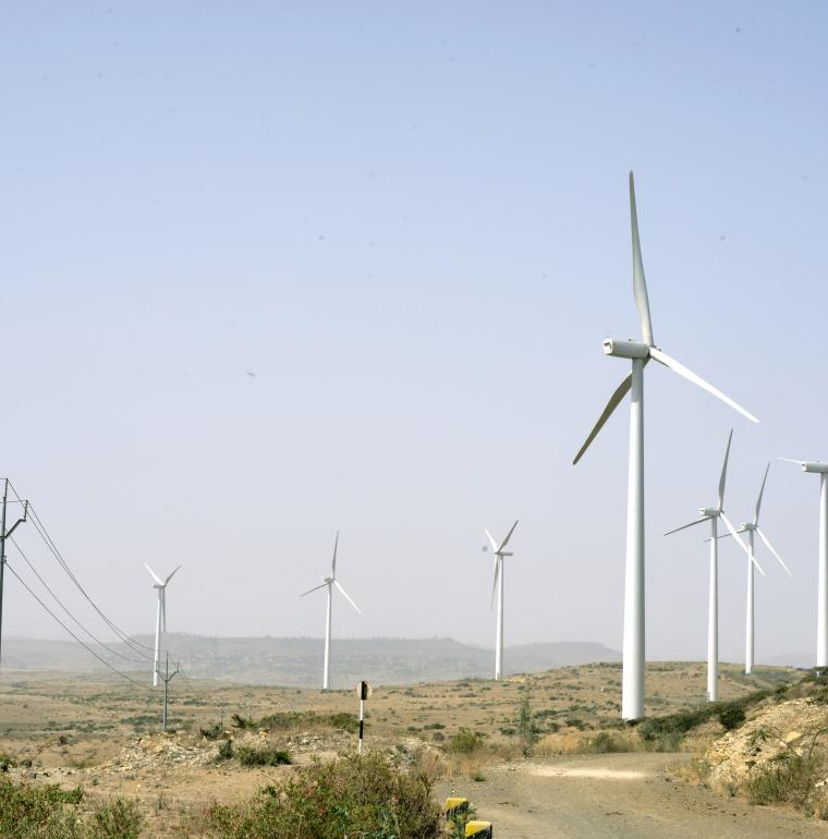 wind turbines, renewable energy, Ethiopia, Alstom