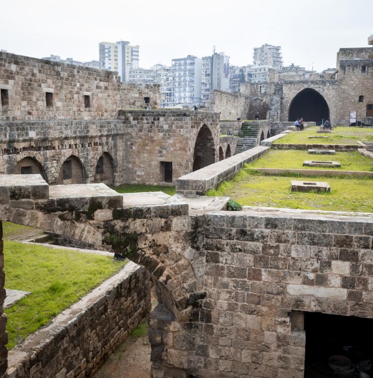 Saint-Gilles stronghold, old city, Tripoli, Lebanon, patrimony