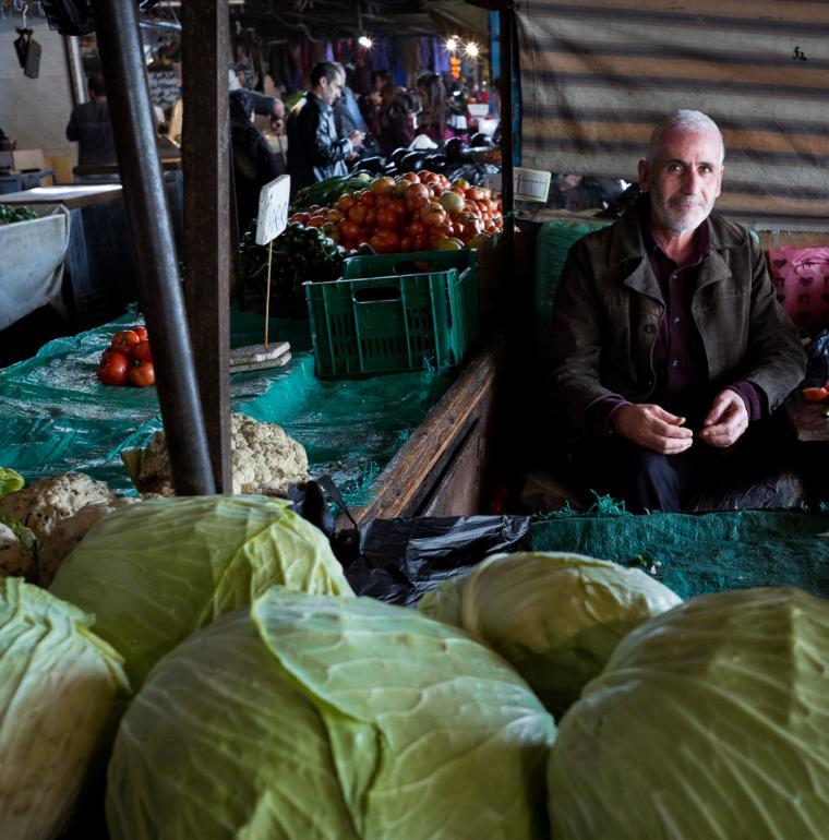 souk, Tripoli, Lebanon, men, market