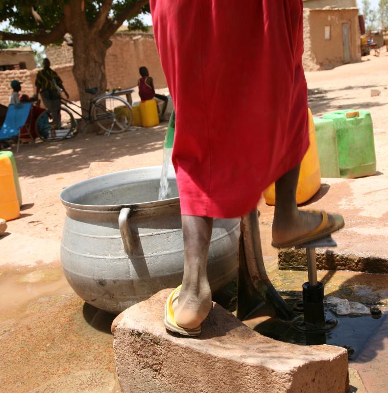 eau, Burkina Faso
