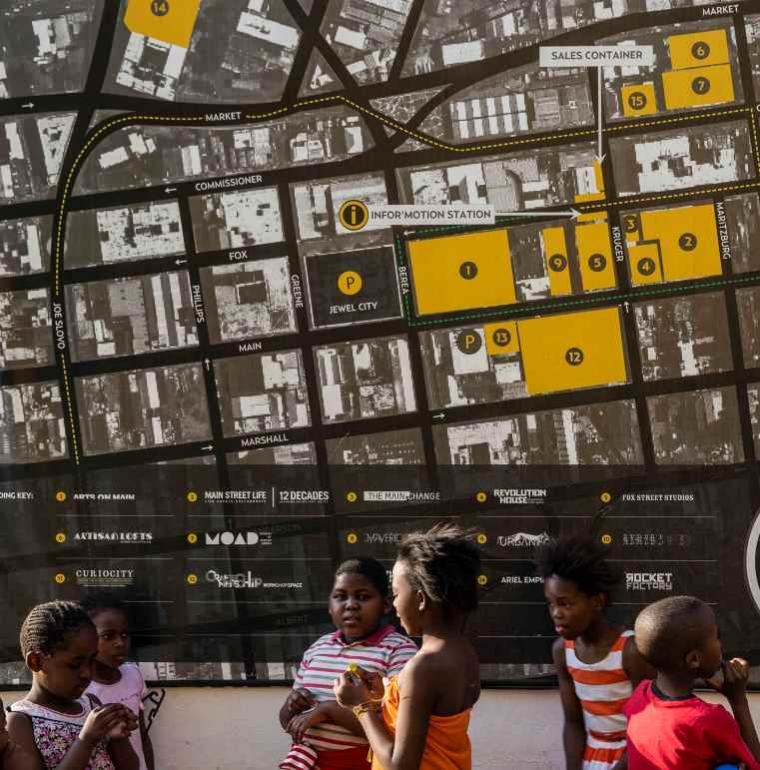Johannesburg, Afrique du Sud, ville, jeunes