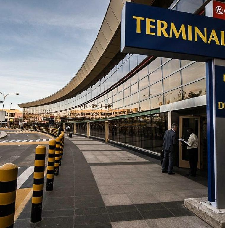 Terminal 1 at JKIA International airport / KAA