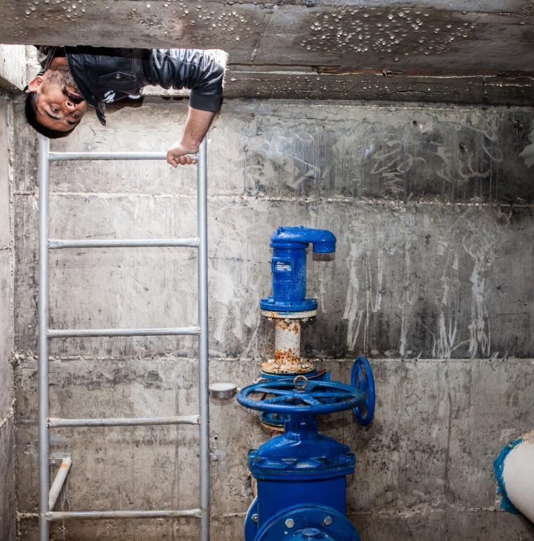 installation, eau, assainissement, Territoires palestiniens