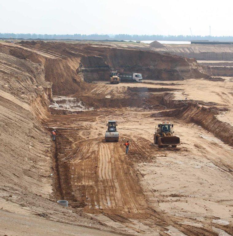 infrastructures, travaux, Territoires palestiniens