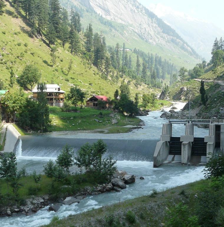 hydroélectricité, eau, énergie, Pakistan, Jaggran