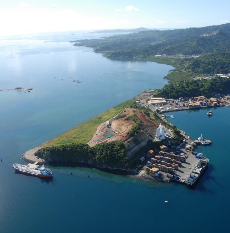 Longoni harbour, Mayotte, trade infrastructures, private support, Bonillo