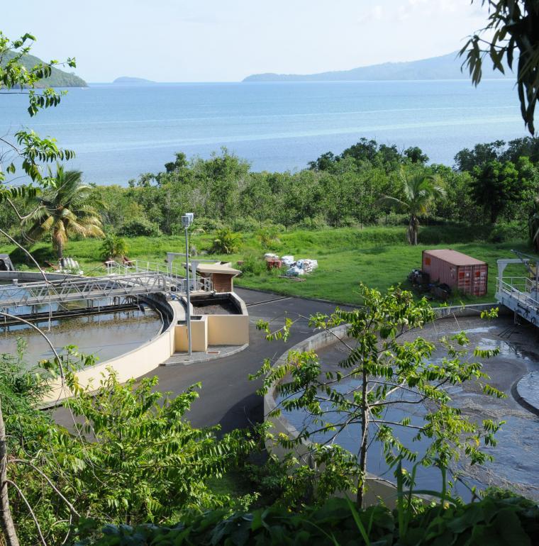 Mayotte, lagon, assainissement, station épuration, Bonillo