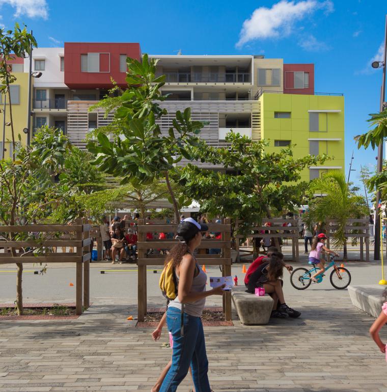 La Réunion, villes durables