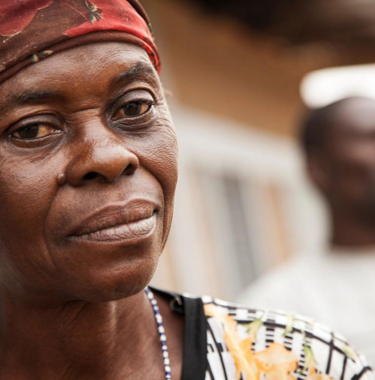 Une femme RDC