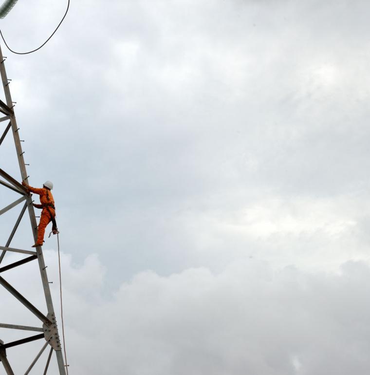 Poste de transformation d'électricité, Vietnam