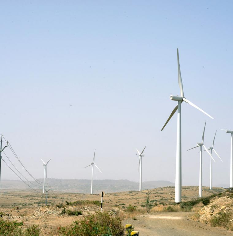 Éoliennes, Afrique du Sud, énergie