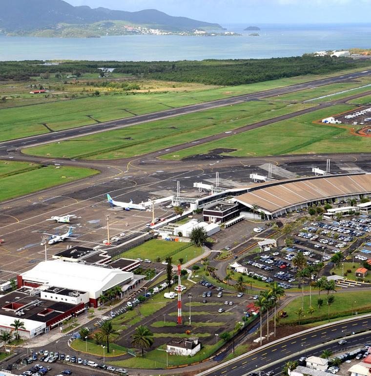 aéroport Aimé Césaire, Martinique