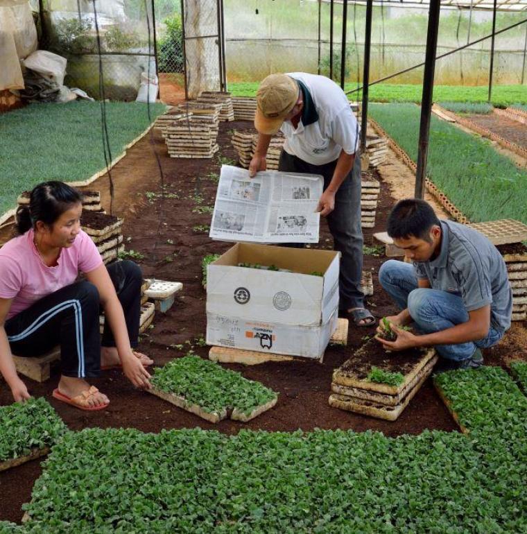 Formation agricole au Vietnam