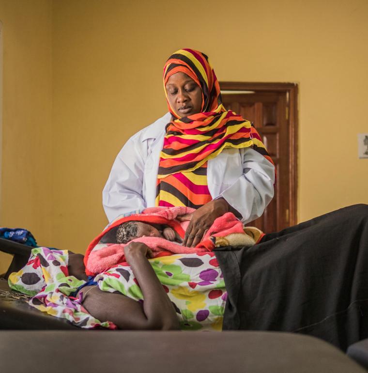 Centre de santé Dar Naïm – Post-accouchement, Mauritanie