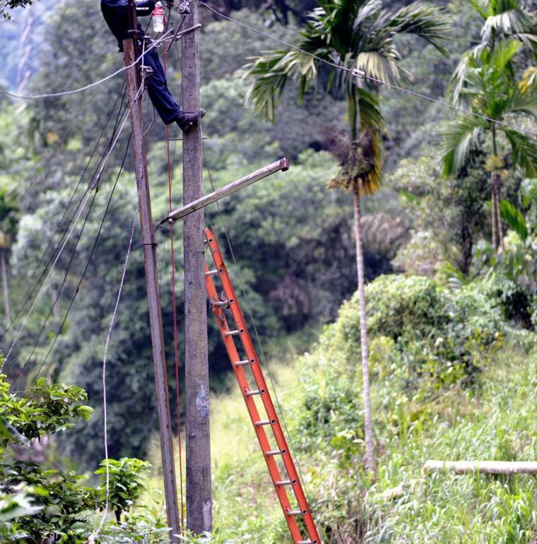 Sri Lanka Raccordement électrique en milieu rural