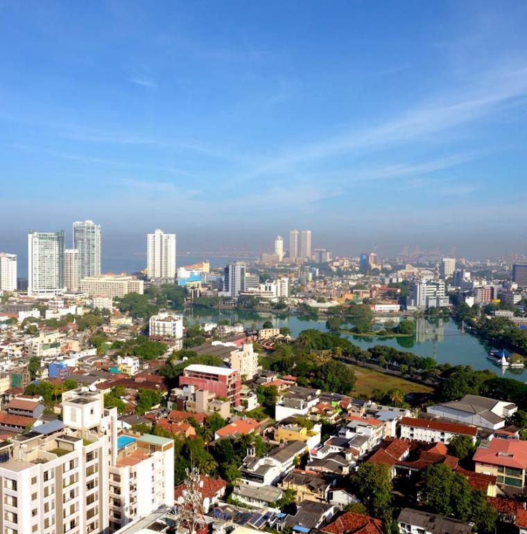 Sri Lanka Ville de Colombo