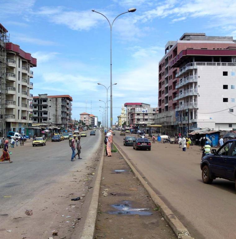 Guinée rue de Conakry