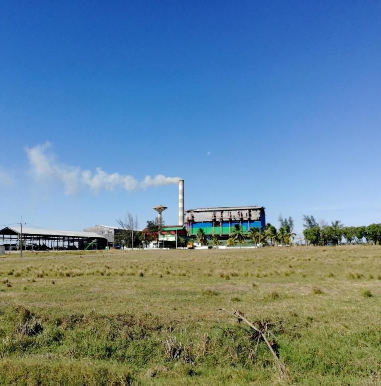 Usine de transformation de la canne à sucre dans la province de Cienfuegos, Cuba, énergie
