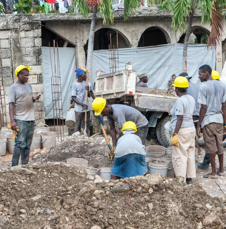 Haiti Redevelopment works in the Martissant neighborhood