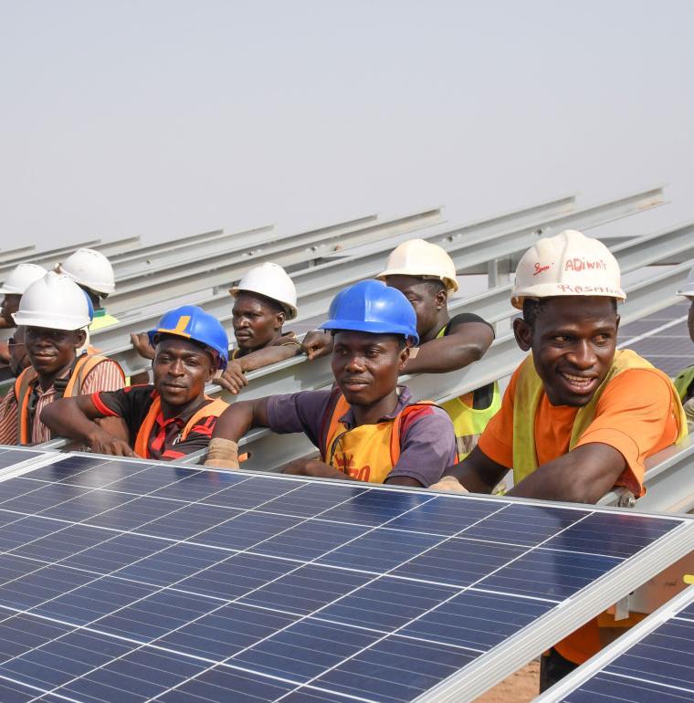 Zagtouli, la centrale photovoltaïque du Burkina Faso