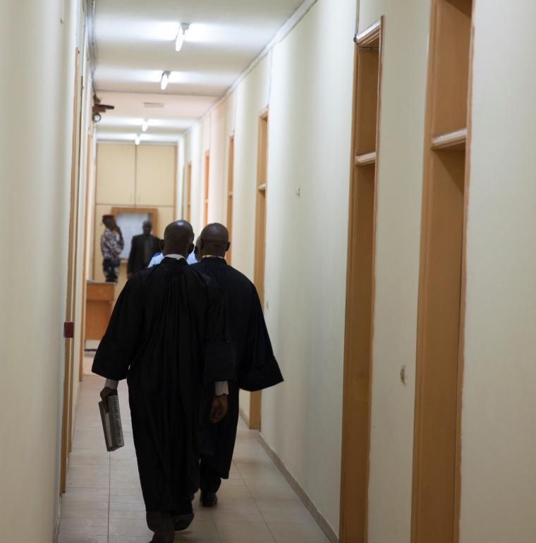 justice, Abidjan, Côte d'Ivoire