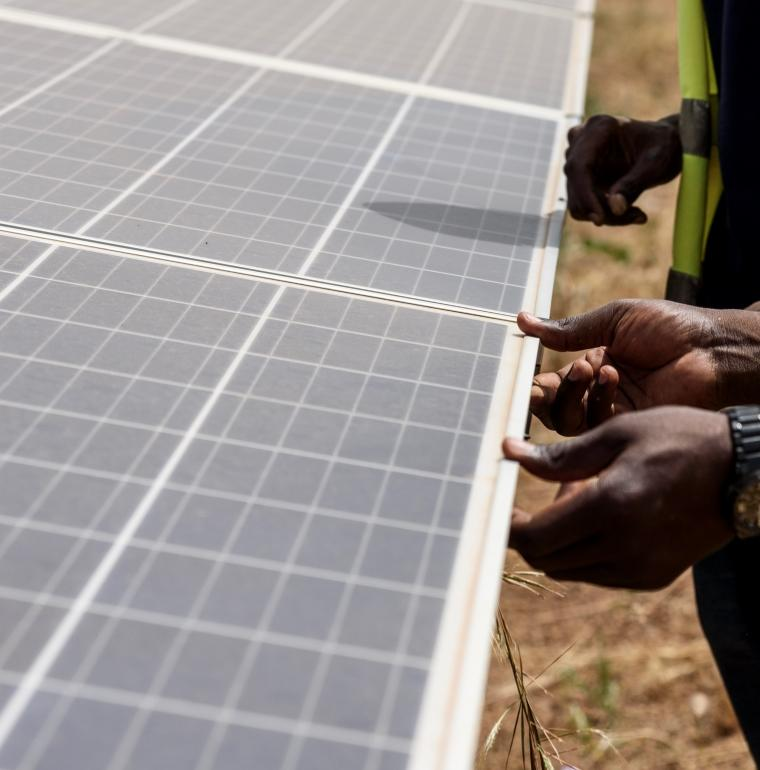 energy transition, Zagtouli solar power plant, Burkina Faso