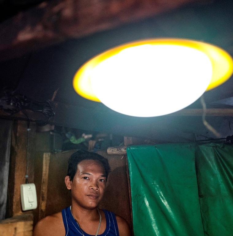 energy transition, access to electricity, light, Philippines