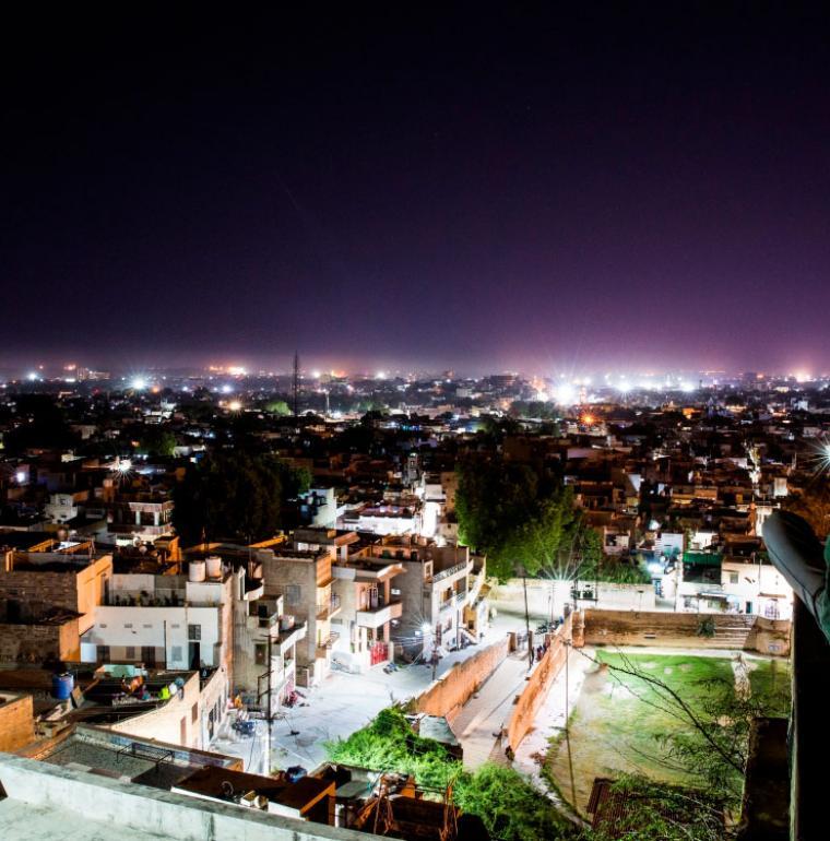 transition territoriale et écologique, Jodhpur, Inde