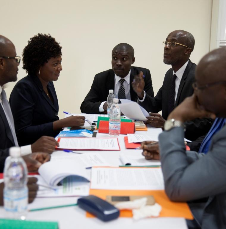 governance, seminar for the judiciary, Côte d'Ivoire