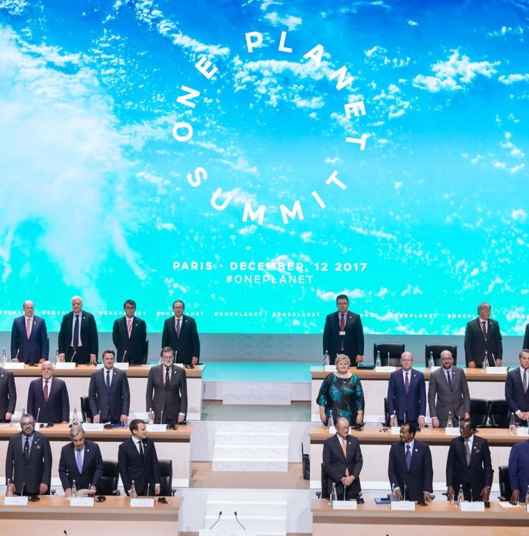 One Planet Summit, clima, biodiversidad