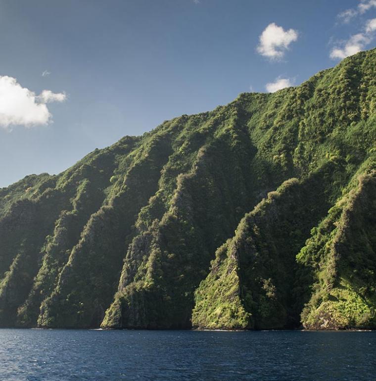 Fatu Hiva, Polynésie française, Trois Océans