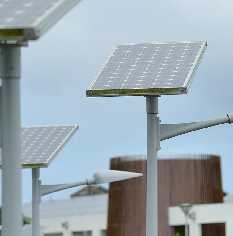 Panneaux solaires, Port Louis, Guadeloupe, Gentilhomme