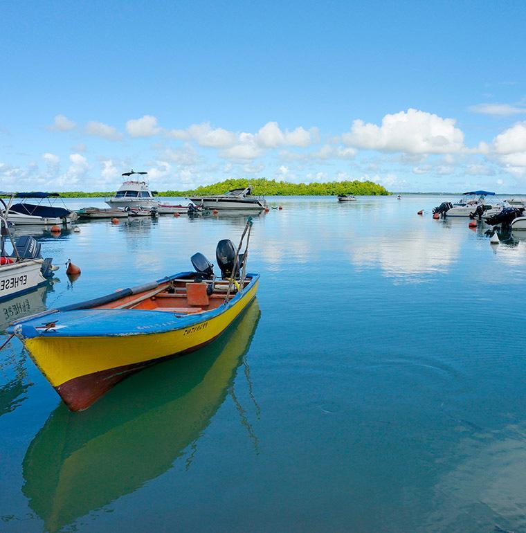 Port, Vieux Bourg, Guadeloupe