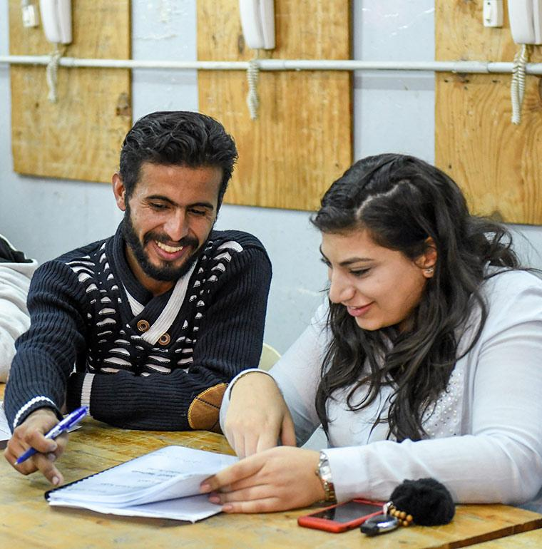 students, vocational training, employment, Lebanon