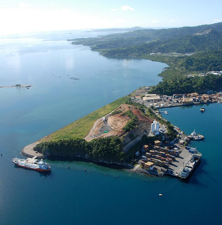 port of Longoni, Mayotte