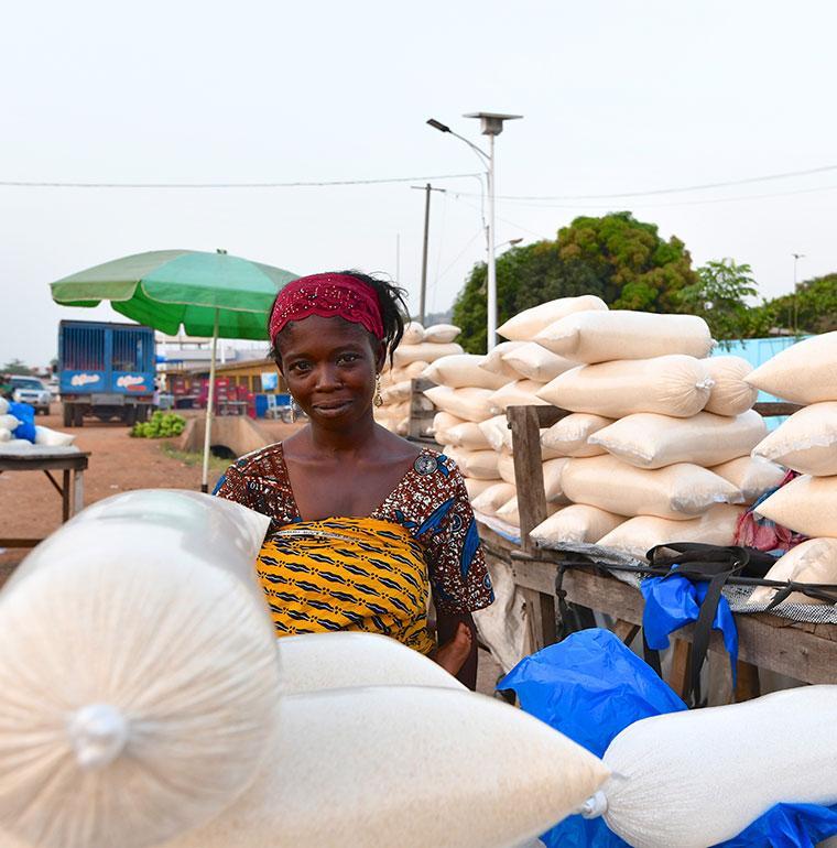 farmer, West Africa