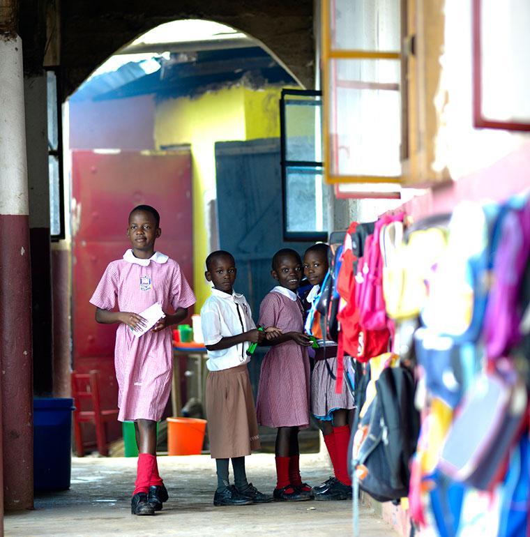 primary school, Uganda, pupils, education