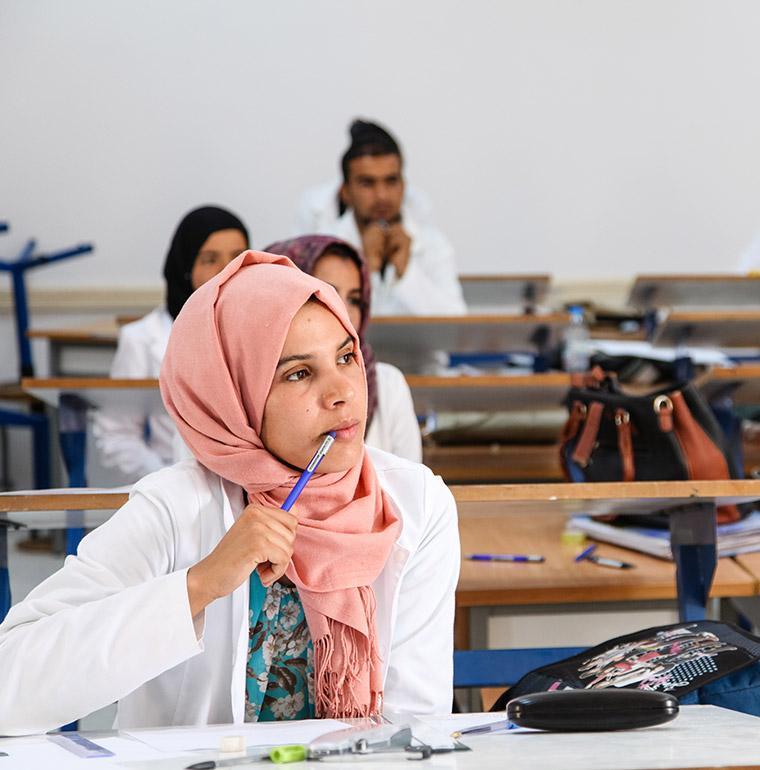 university, Tunisia, student