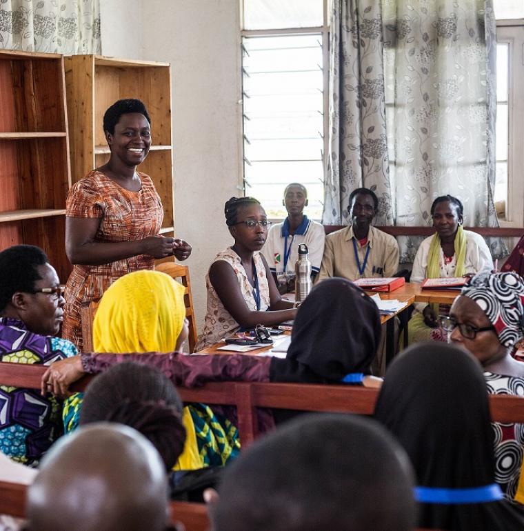 Une assemblée de citoyens de quartiers organisée par l'ANSS Burundi