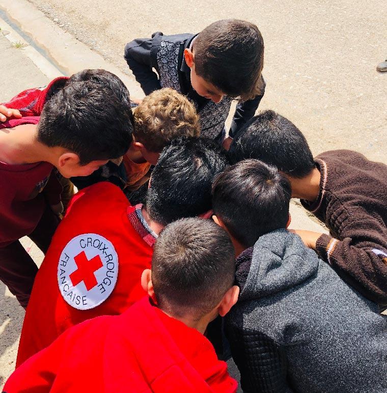 Irak, cohésion sociale, AFD, Croix-Rouge française
