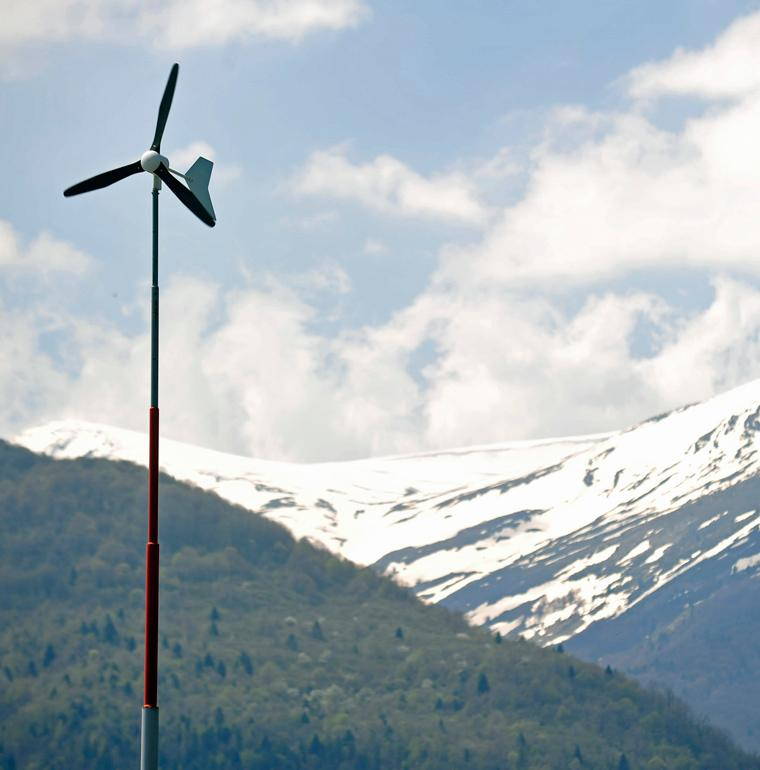 wind power Western Balkans